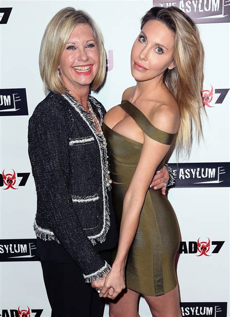 olivia newton john latest olivia newton john s daughter shares special moments with