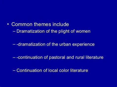 themes in pastoral literature transition literature culture