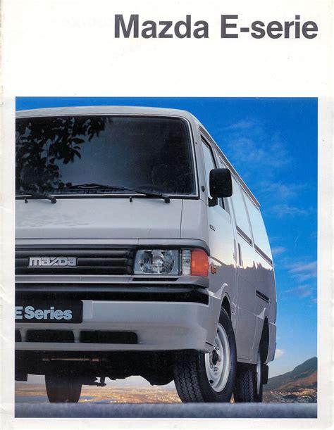 1988 mazda e series brochure