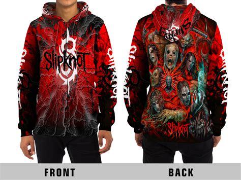 Jaket Hoodie Zipper Sweater Slipknot slipknot all print zipper hoodie sweatshirts hoodies