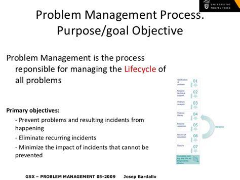 design management problems itil v3 problem management