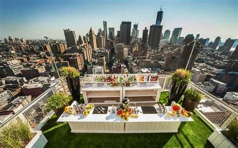 top bars in soho nyc veg night out at soaked the mondrian soho s amazing rooftop bar the new york