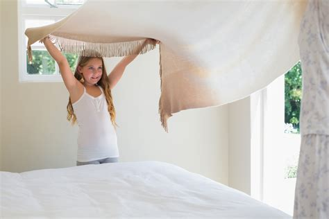 making the bed fun activities to teach kids how to care for themselves