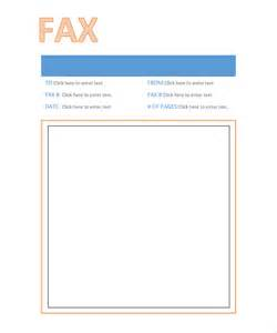 Professional Fax Cover Sheet by 10 Professional Fax Cover Sheet Templates Free Sle
