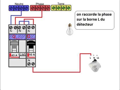 Installation Detecteur De Mouvement by Le Branchement Du D 233 Tecteur De Pr 233 Sence