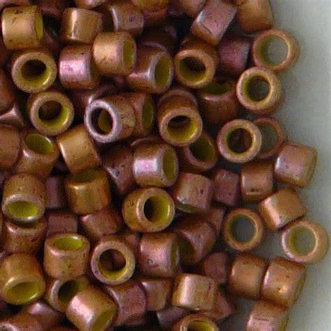 toho cylinder toho aiko 11 0 cylinder seed cl copper 1626f ebay