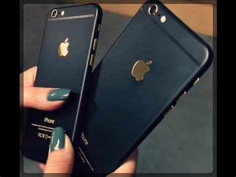 iphone 6 chassis noir or black gold