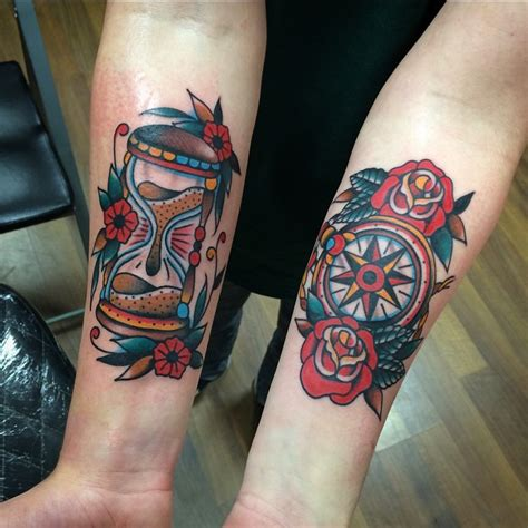 traditional forearm tattoos richard lazenby