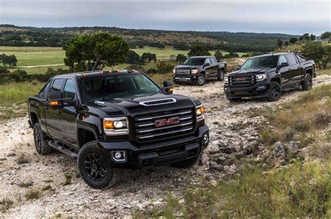 gmc sierra hd  terrain  completes   road truck trifecta  fast lane truck