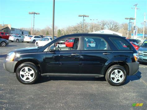 chevrolet equinox back 2005 black chevrolet equinox ls 7479313 photo 9