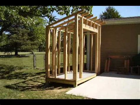 How To Build A Lean To Storage Shed by How To Build A Lean To Style Storage Shed
