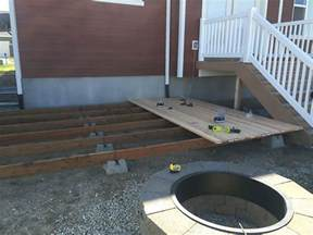 home depot deck plans how to build a simple diy deck on a budget