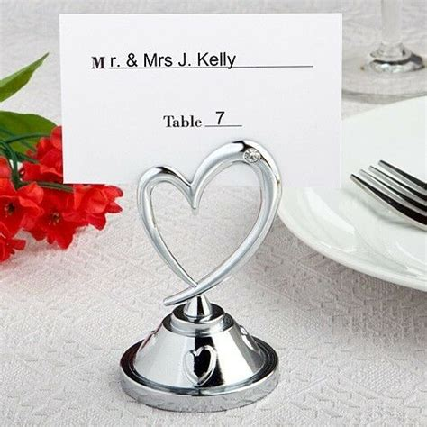 themed reception table place card holders wedding favors ebay