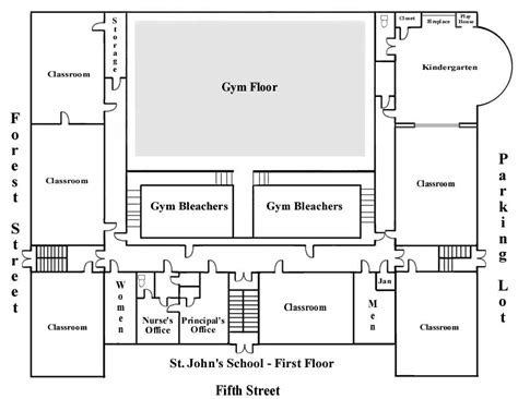 kindergarten school floor plan school floor plans