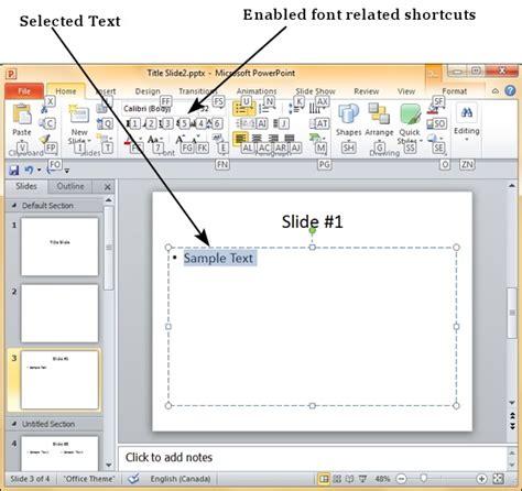 Keyboard Tutorial Ppt | keyboard shortcuts in powerpoint 2010