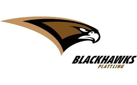 black hawk football logo plattling black hawks logo