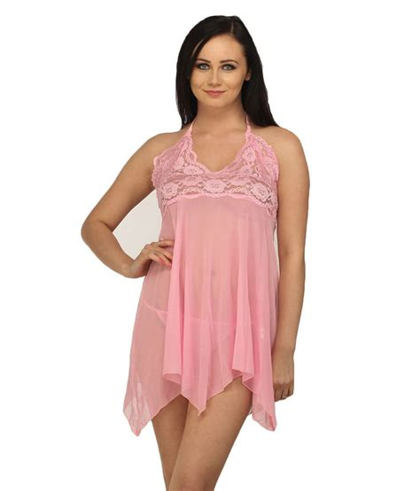 Pink Baby Doll Diskon buy desiharem pink synthetic baby doll dresses at