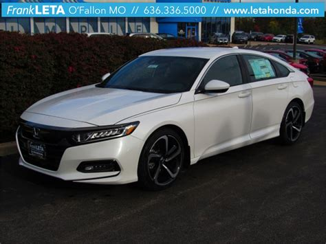Honda Accord New Model 2018 by New 2018 Honda Accord Sport 4d Sedan For Sale St Louis