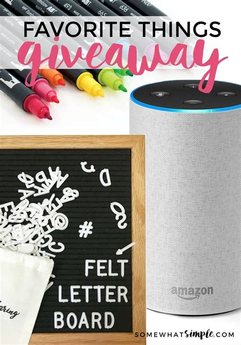 Favorite Things Giveaway - my favorite things 2017 big giveaway somewhat simple