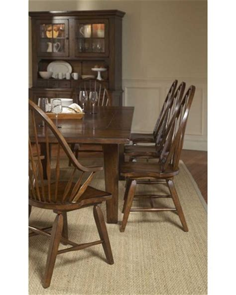 Broyhill Attic Heirlooms Dining Table Attic Heirlooms Rustic Oak Rectangular Leg Table Dining Set By Broyhill Home Gallery Stores