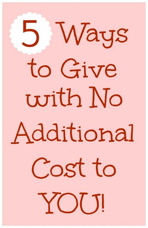 ideas and methods to no cost use household strategies 5 ways to give with no additional cost inner child giving