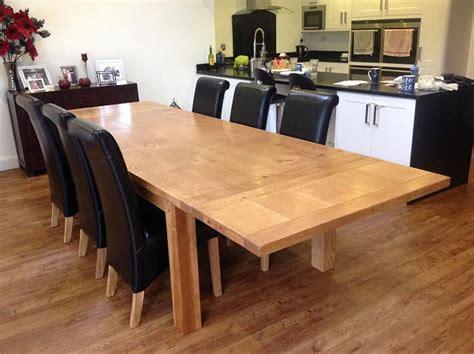 Handmade Oak Tables - handmade oak extending dining table quercus furniture