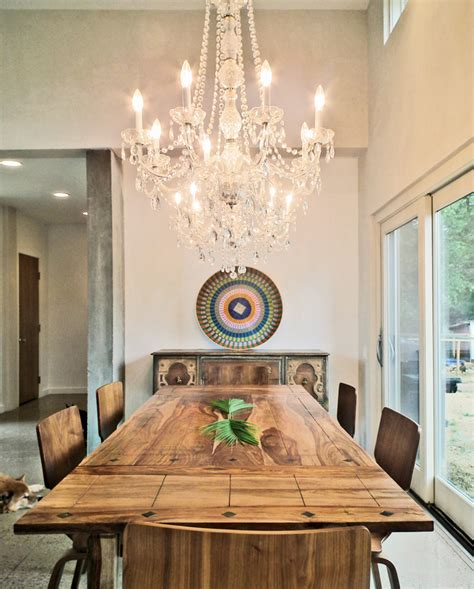 ikea crystal chandelier dining room contemporary painted ceiling glass dining table wall decor czmcamorg