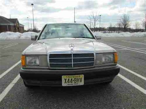 repair anti lock braking 1991 mercedes benz w201 electronic valve timing sell used 1991 mercedes benz 190e 2 6 i6 automatic smoked silver nice shape no reserve in