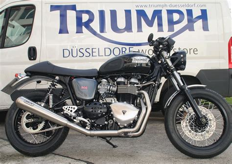 Motorradverleih D Sseldorf by Modellnews Triumph Thruxton Umbau 1000ps At