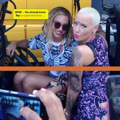 amber rose forehead tattoo flaunts new devilish tattoos see photos