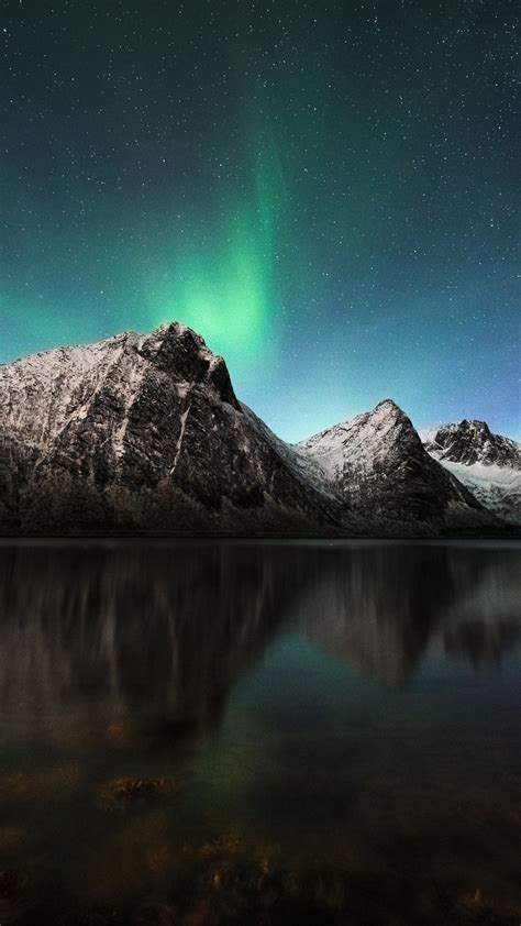 wallpaper northern lights aurora borealis iceland