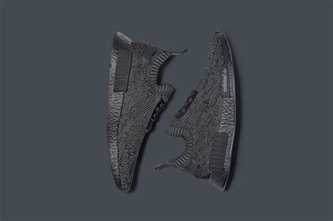 Sepatu Adidas Nmd R1 Pk Primeknit Pitch Black Premium Quality adidas nmd r1 primeknit quot pitch black quot f f justfreshkicks