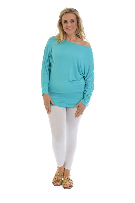 boat neck ladies tops new ladies top plus size womens batwing slouch boat neck