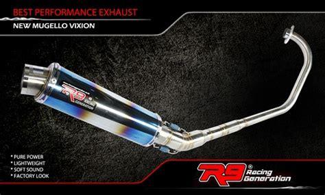 Knalpot Racing R9 Honda Vario Fi 125 150 Alpha Series Black Original 5 daftar harga knalpot r9 motor yamaha kawasaki honda