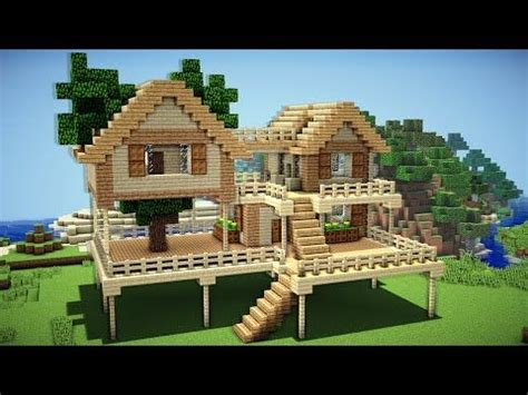 house themes minecraft minecraft starter house tutorial how to build a house