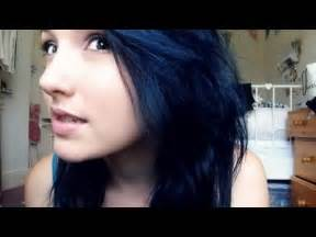 what to dye your hair when its black i had to dye my hair midnight blue youtube