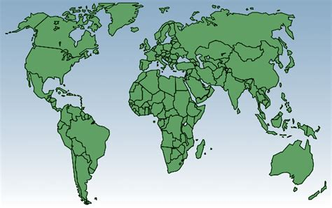 free printable world map a4 size world outline map a4 size images