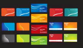 Business Cards Free Templates by Free Business Card Free Vector Business Card Templates In
