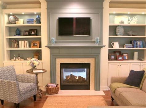 Fireplace Surround Ideas How To Make Your Tv Blend In Over The Fireplace The