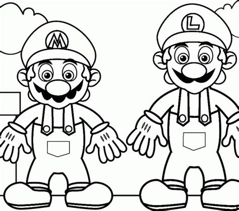 blank coloring pages mario blank coloring pages to print mario coloring pages