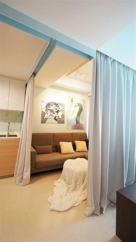 wohnzimmer wandlen raumtrenner vorhang ideen die w 228 nde ersetzen
