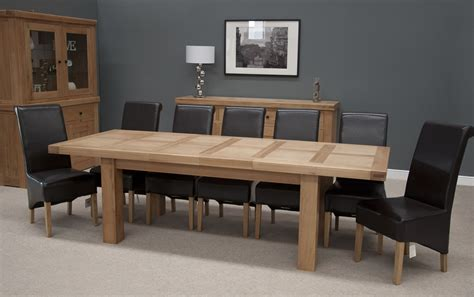 Oak Dining Tables Uk Bordeaux Oak Extending Dining Table Oak Furniture Uk