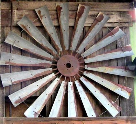 old windmill fan blades for sale 60 rustic windmill head fan blades western ranch barn