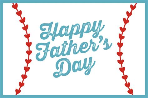 happy fathers day baseball happy s day
