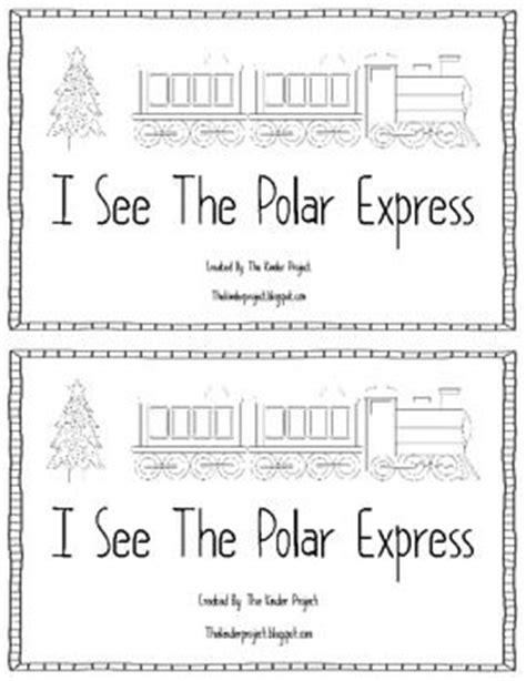 polar express printable activity sheets i see the polar express emerget reader the two clip art
