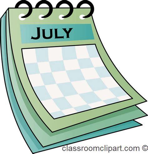 Calendar Clip Monthly Calendar Clipart