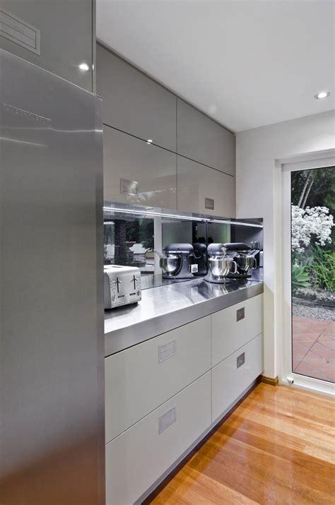 Silver Kitchen Cabinets by Silver Grey Kitchen Cabinets Interiordecodir