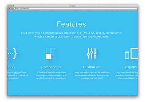 ui layout framework 14 amazing web ui frameworks web graphic design bashooka