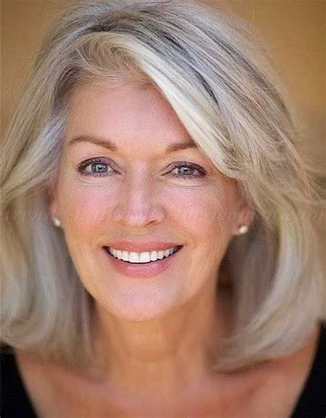 50 year old women with short grey hair classy hairstyles for older women hairs pinterest