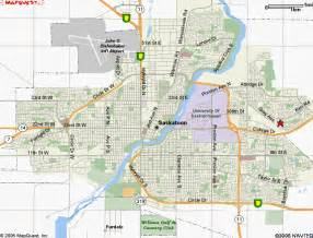 saskatoon map and saskatoon satellite image